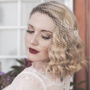hair, makeup, veil - Valencia Harrison Designs