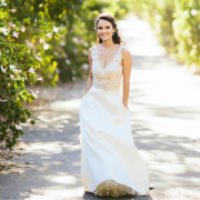 dress, lace, lace wedding dress - Valencia Harrison Designs