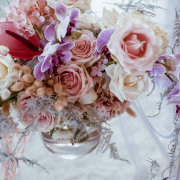 floral centrepieces - Strawberry Weddings and Events