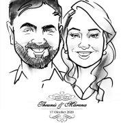 Live Cartoon Portraits