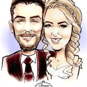 wedding entertainment - Live Cartoon Portraits