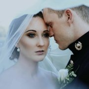 bride, groom, makeup, makeup, veil