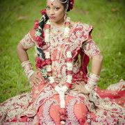 botanic gardens durban, indian wedding, indian bride, indian bridal hair, wedding gown
