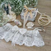 brides accessories, garter