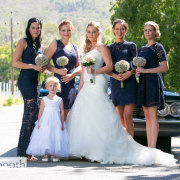 bridesmaids dresses, flower girl