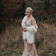 bride, fur bolero, wedding dresses, wedding dresses