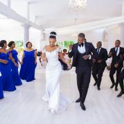 bride and groom, bride and groom, suits, tiara, tuxedos, wedding dresses, wedding dresses