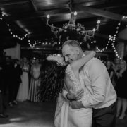 barn, fairy lights, father of the bride, fatherdaughterdance