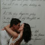kiss, kiss, decor, handmade
