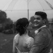 bride and groom, bride and groom, umbrella