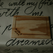 wedding favours, wooden