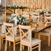 fairy lights, wedding furniture