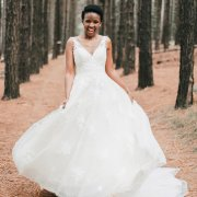 bride, forest