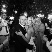 bride and groom, bride and groom, sparklers