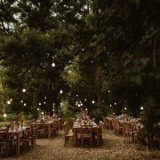 naked bulbs, outdoor reception, wedding furniture