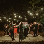 dance floor, fairy lights