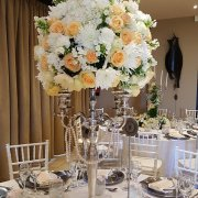 centrepiece, flowers, table decor