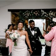bride and groom, bride and groom, confetti, bride and groom