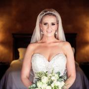 2017 bride, bride, flower bouquet