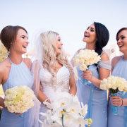 blue, bridesmaids dressses