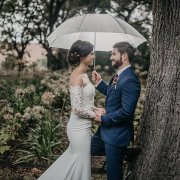 bride and groom, bride and groom, burning umbrella