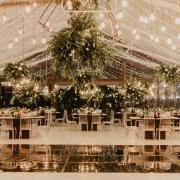 fairy lights, hanging decor, naked bulbs, wedding decor