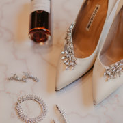 bridal shoes, brides accessories