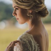 bridal hairstyles, earings