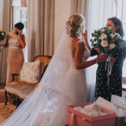 bouquets, bridal hairstyles, veil