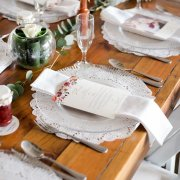 stationery, table setting
