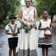 bouquet, flower girl, headpiece, page boy, wedding dress, wedding dress
