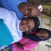 bride & groom, bride and matron of honour