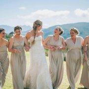beige, bridesmaids dresses