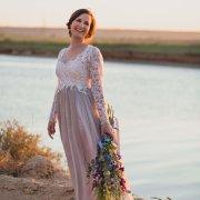 dam, lace, wedding dress