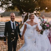 bride and groom, bride and groom, confetti, wedding dresses, wedding dresses
