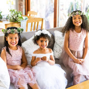 flower crowns, flower girls