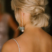 bridal hair, updo