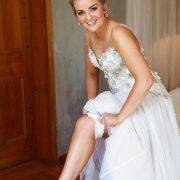 bridal shoes, garter