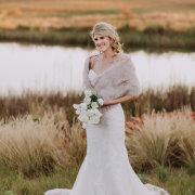 fur bolero, wedding dress, wedding dress