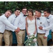 bride, groomsmen