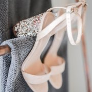 beaded, brides shoes