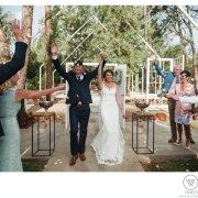 bride and groom, confetti, wedding dress, wedding dress, wedding dress