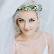flower crown, makeup, makeup, makeup