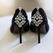 black, brides shoes, brides shoes, bridal shoes, shoes