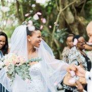 bride, confetti