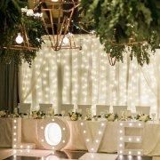 reception, wedding decor