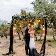 floral arches, kiss, kiss, wedding arch