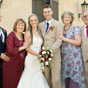 the couple & the parents