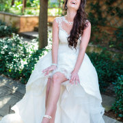 garter, wedding shoes