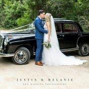 car, wedding dress, wedding dress